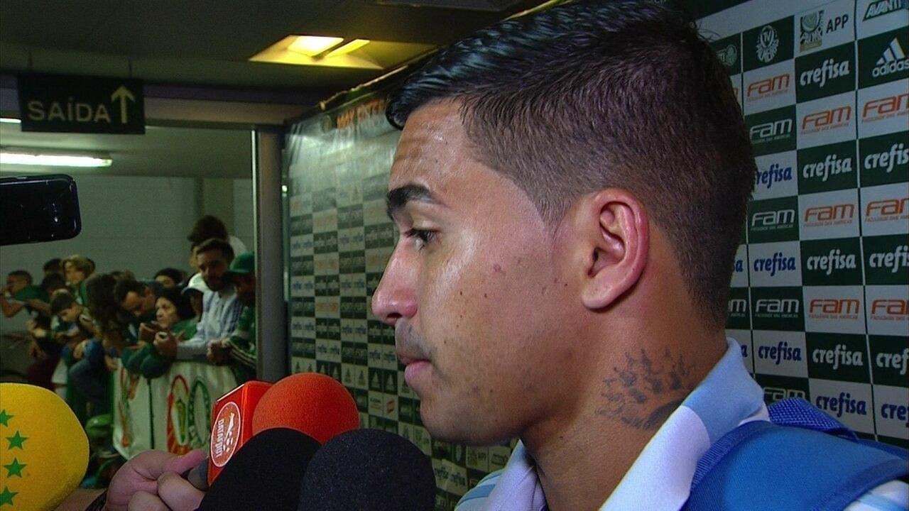 """Dudu fala sobre transferência frustrada no Palmeiras: """"Fiquei triste, mas não estou mais"""""""