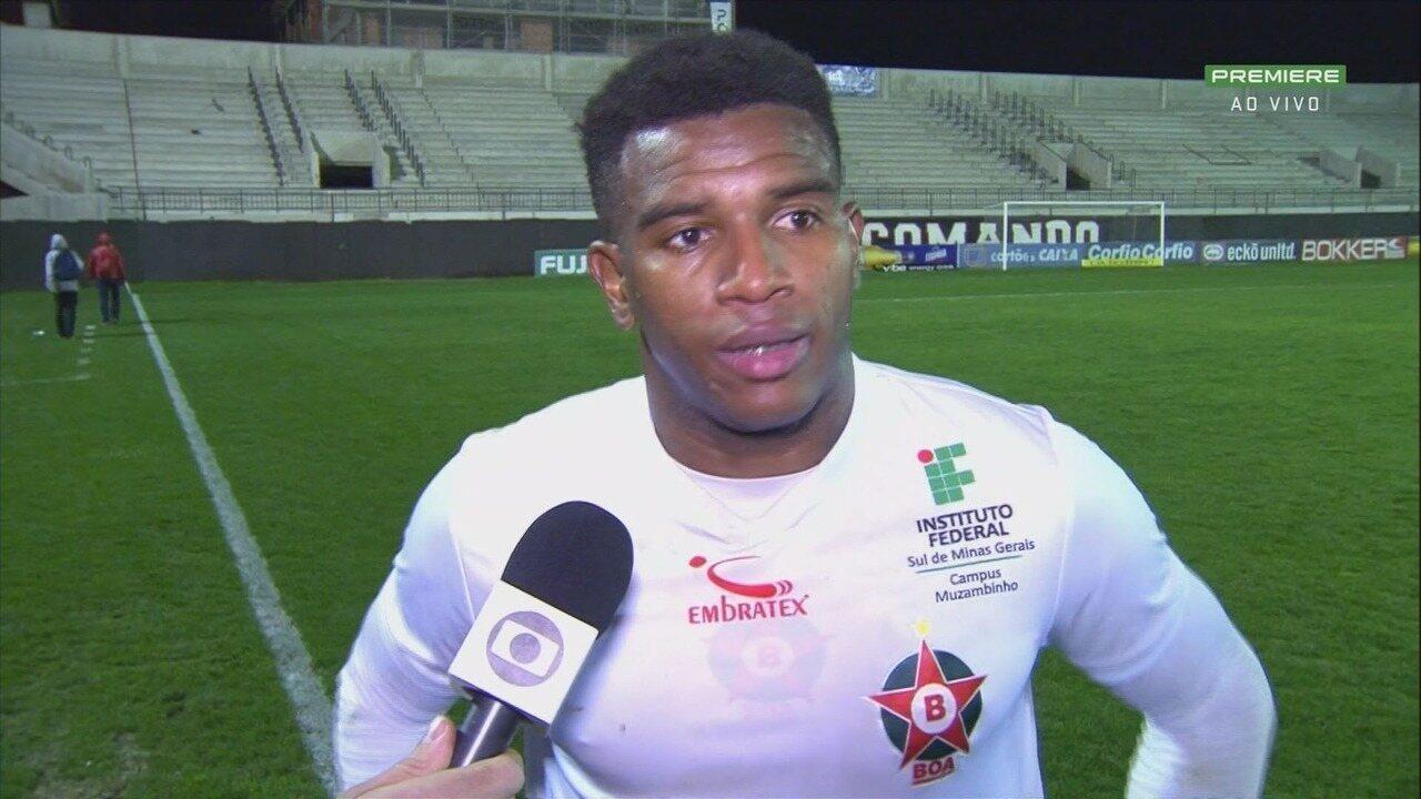 Hélder Maurílio comenta a derrota do Boa Esporte para o Brasil de Pelotas