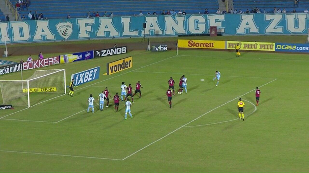 Melhores momentos de Londrina 3x0 Oeste, pela 17ª rodada da Série B do Brasileiro