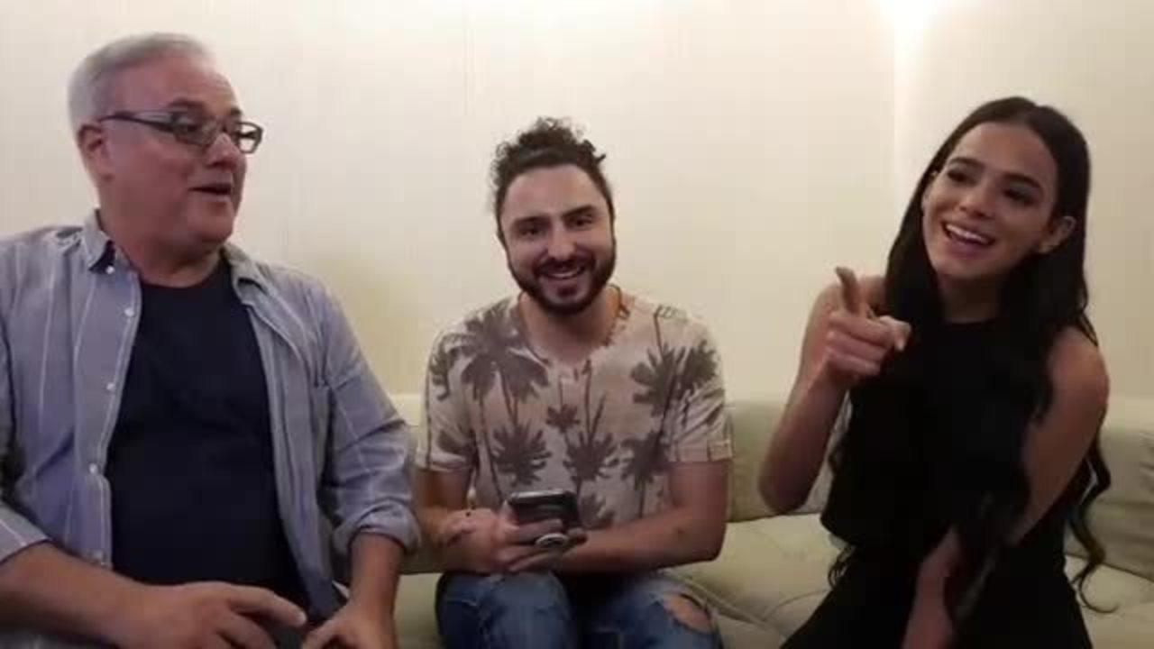 Live DSR: Bruna Marquezine e Luciano Sabino falam sobre o fim de Catarina