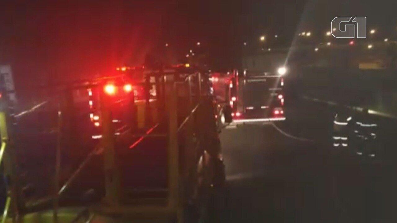 Incêndio atinge Batalhão da Polícia Militar no Vale do Ribeira, SP