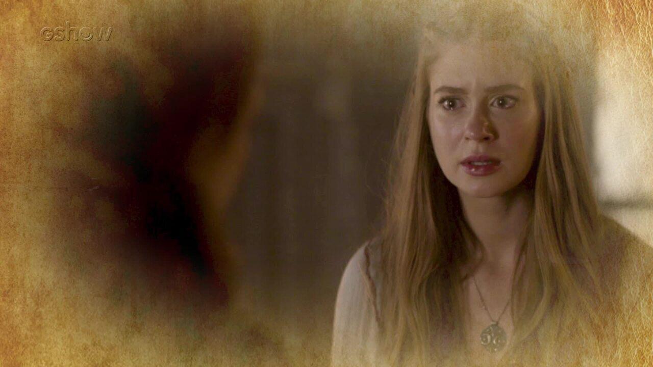 Resumo de 28/07: Amália descobre que pode ser irmã de Catarina