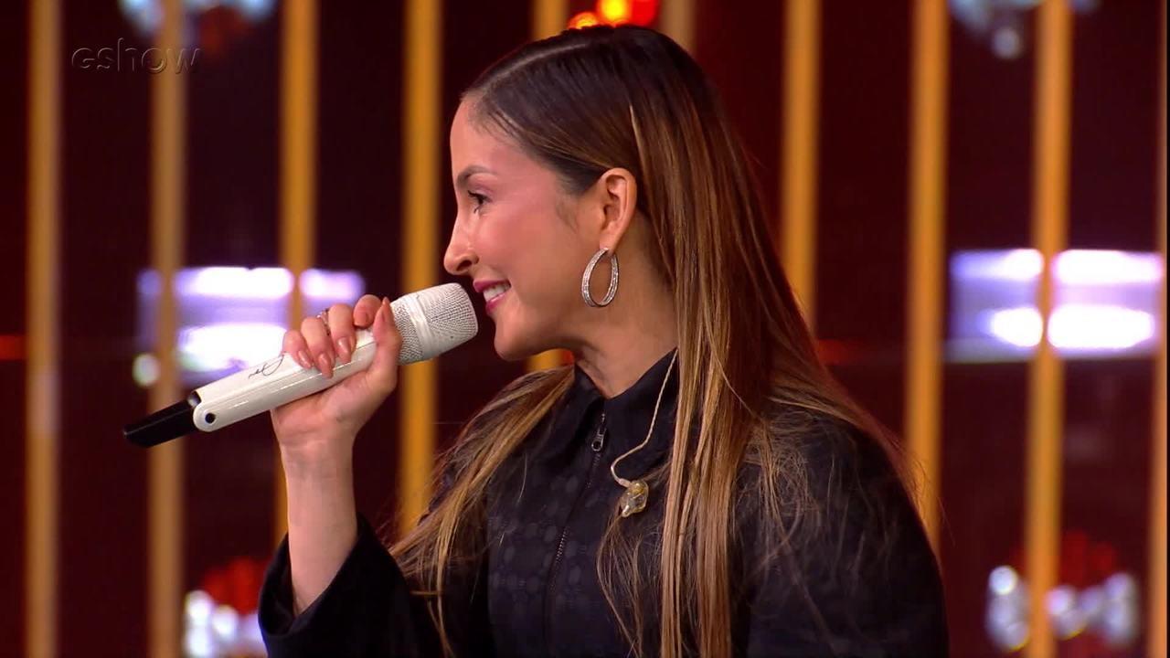 Claudia Leitte relembra música que cantou com Luan Santana