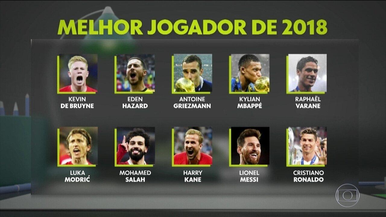 """""""Estudo de Campo"""" tenta desvendar quem vai ser o melhor jogador do Mundo em 2018"""