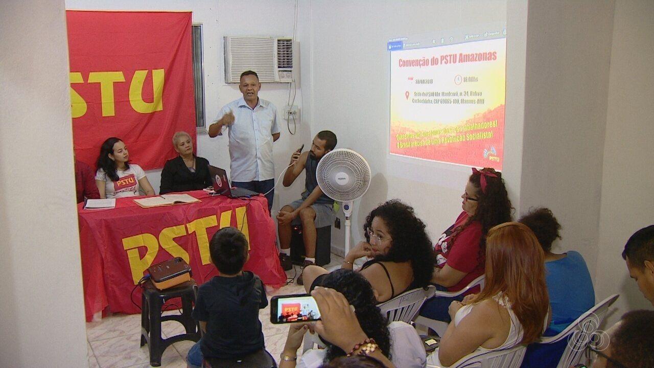 PSTU confirma Sidney Cabral para disputa do governo do AM