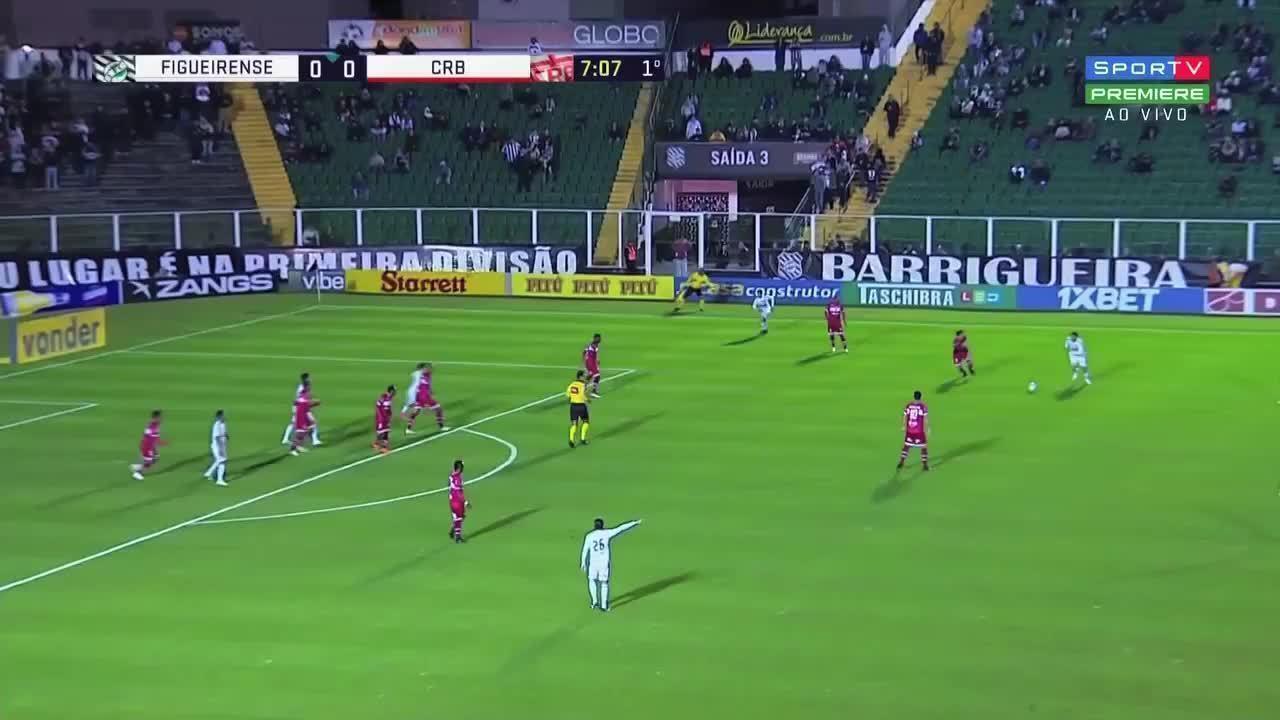 Os melhores momentos de Figueirense 0 X 0 CRB