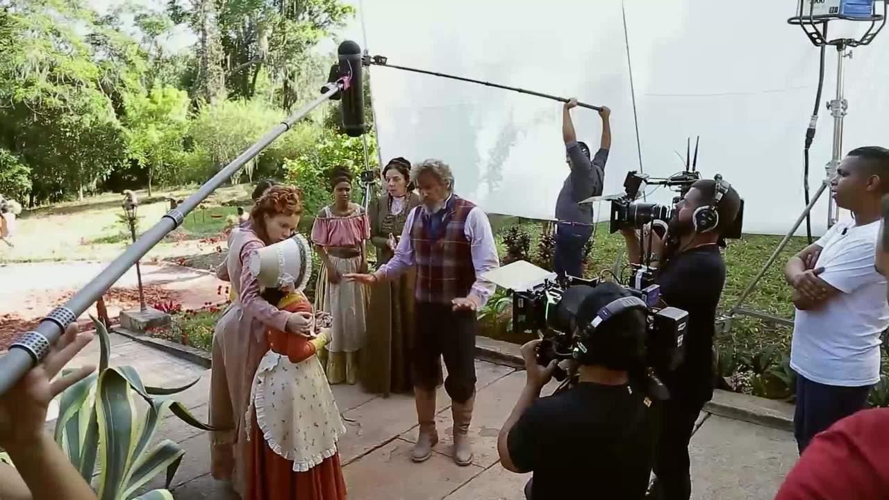 Making of mostra bastidores do capítulo de estreia