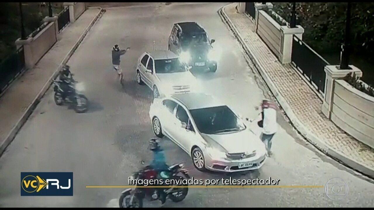 Bandidos fazem assaltam motoristas na Barra da Tijuca