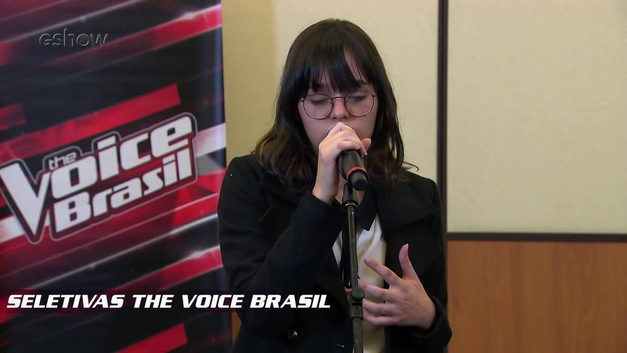 Confira vídeo exclusivo de Alícia Sá na seletiva do The Voice Brasil