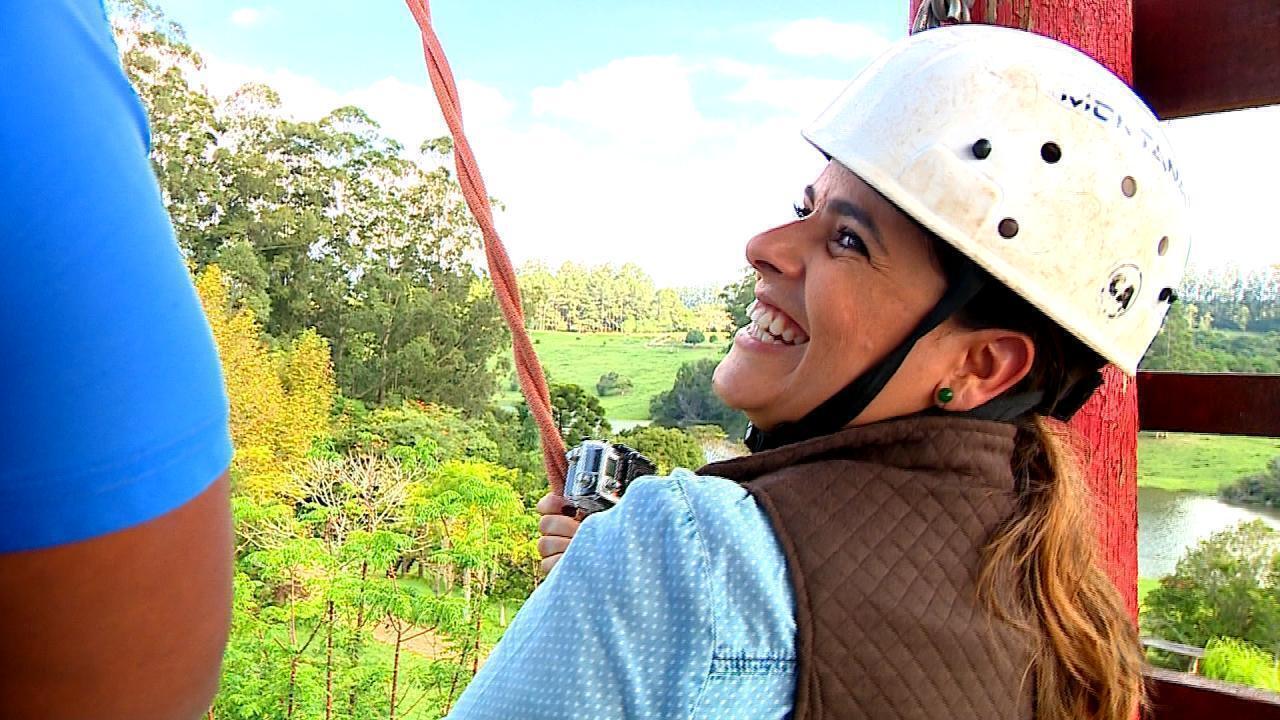 Shana Müller visita a Quinta da Estância, em Viamão, no quadro 'De Mala e Cuia'
