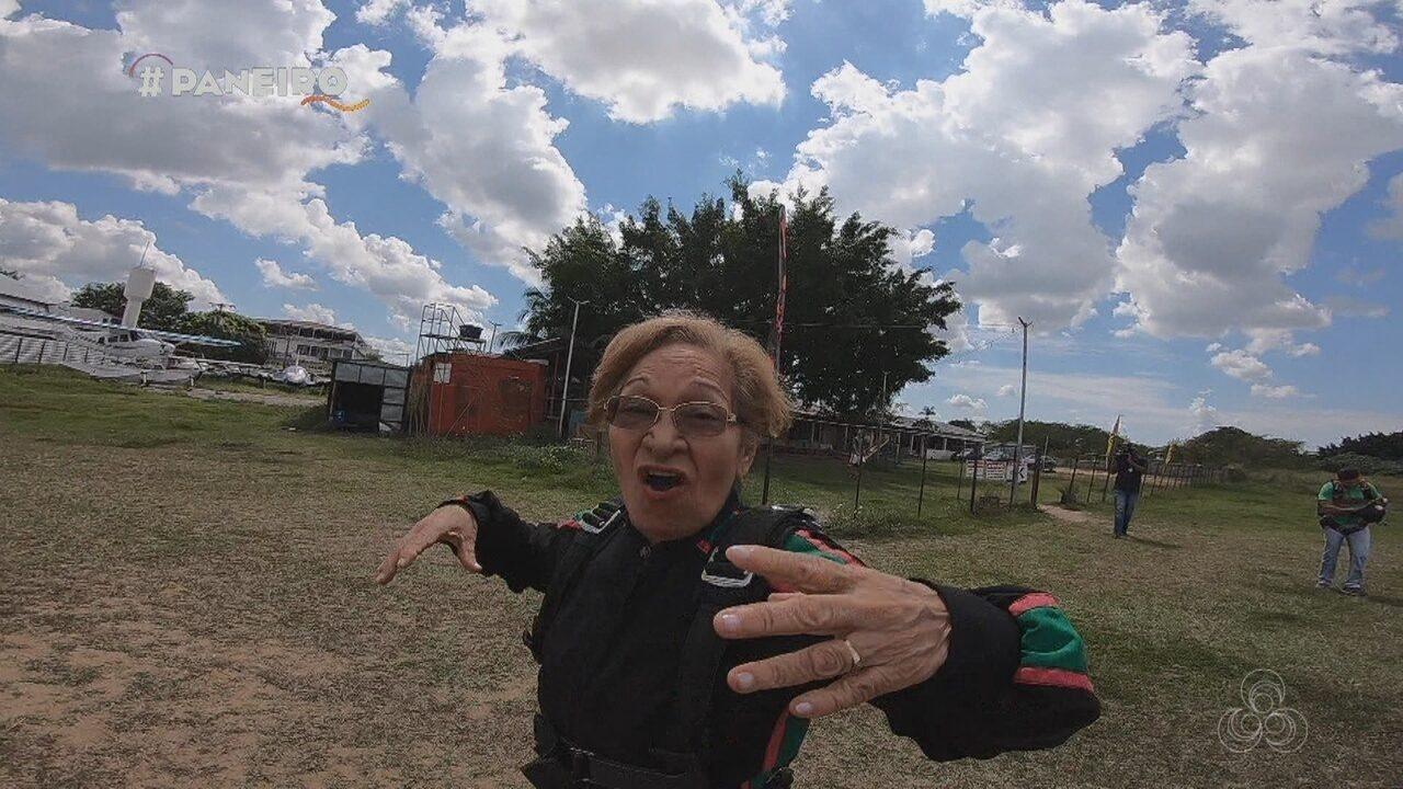 Parte 2: Cantora Kátia Maria pula de paraquedas
