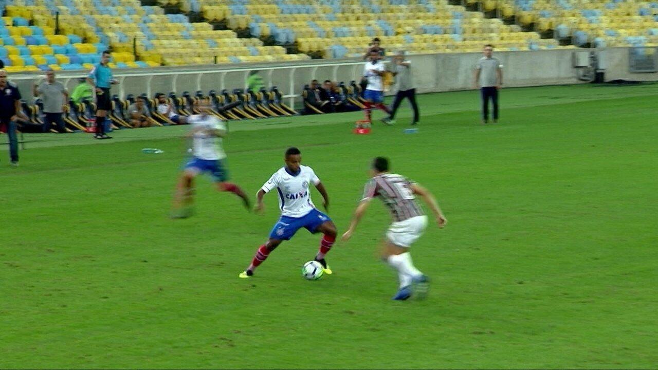 Os gols de Fluminense 1 x 1 Bahia pela 17ª rodada do Campeonato Brasileiro 618246f46ebcc
