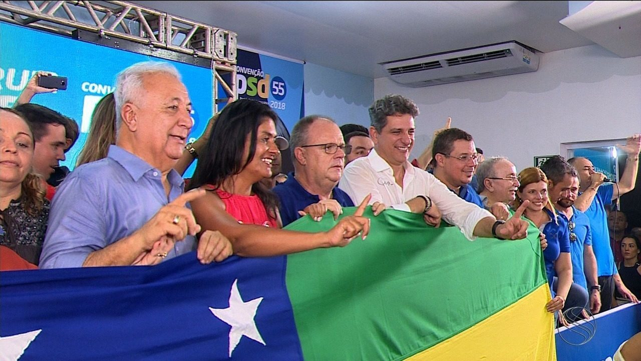 Belivaldo Chagas foi confirmado pelo PSD como candidato ao governo de Sergipe