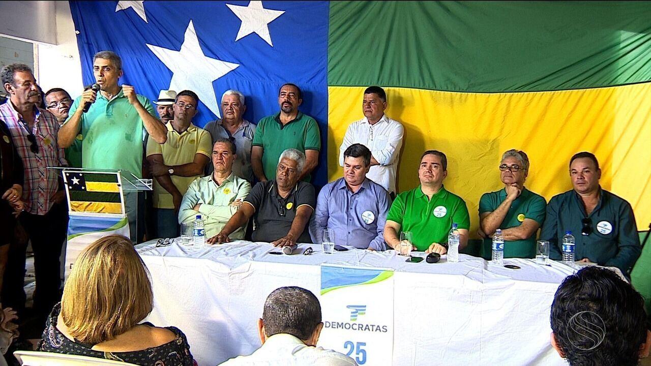 Mendonça Prado foi confirmado pelo DEM como candidato ao governo de Sergipe