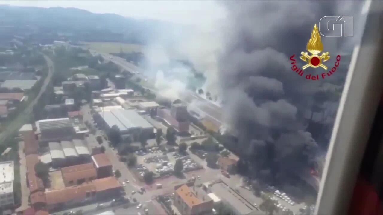 Explosão em estrada perto de Bolonha deixa morto e feridos