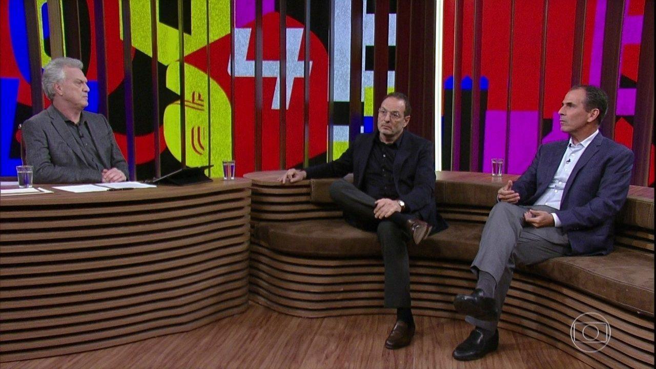 Luiz Schwarcz e Marcos Pereira falam sobre a crise no mercado editoral brasileiro