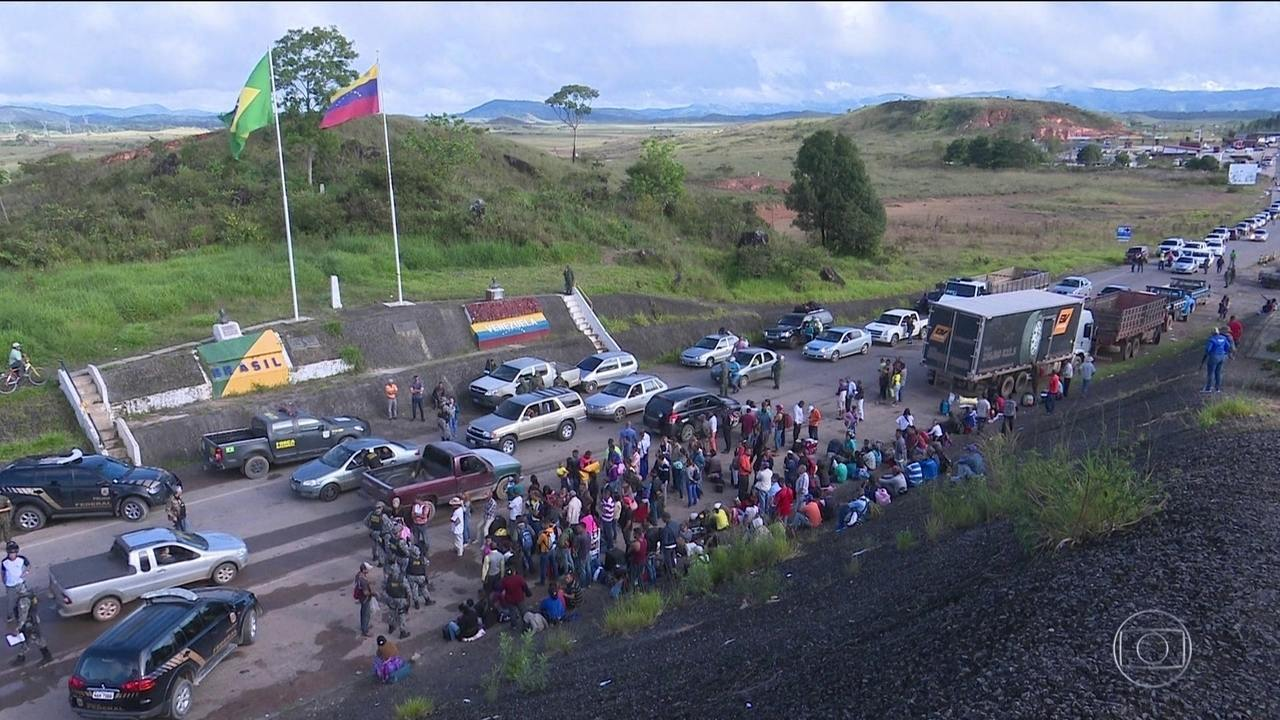 TRF anula decisão de juiz e fronteira da Venezuela em Roraima é reaberta