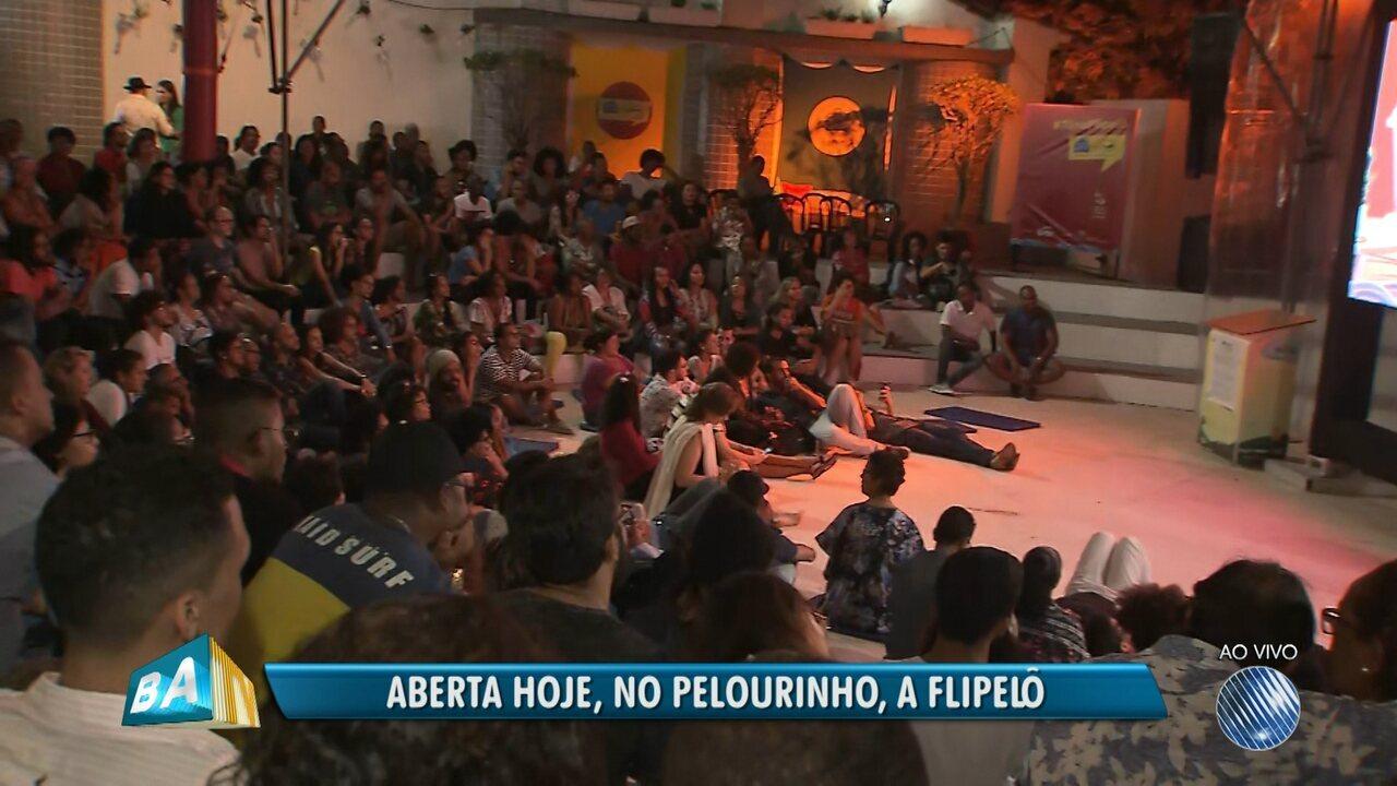 Flipelô começa com debates e show gratuito no Pelourinho