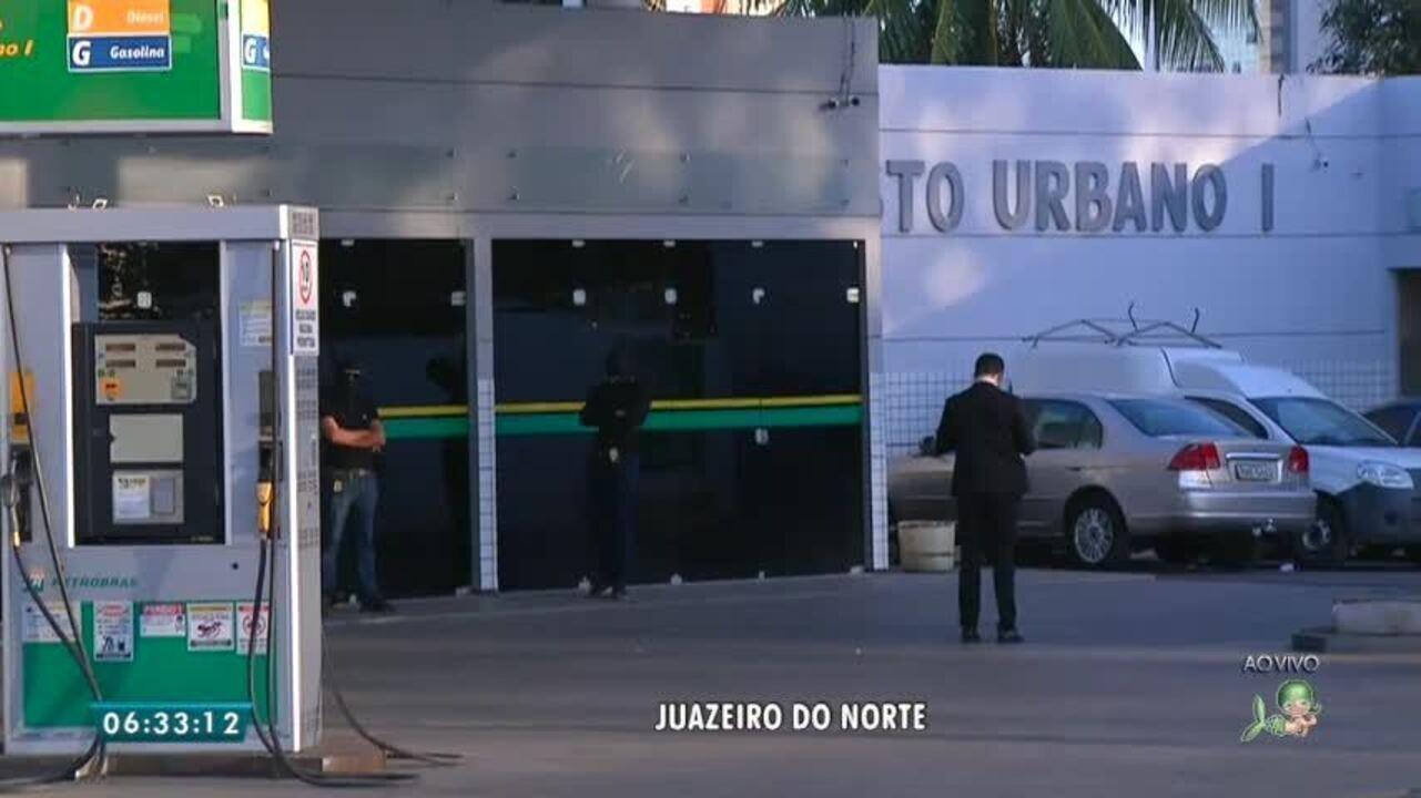 Polícia cumpre mandados em investigação contra irregularidades em postos de combustíveis