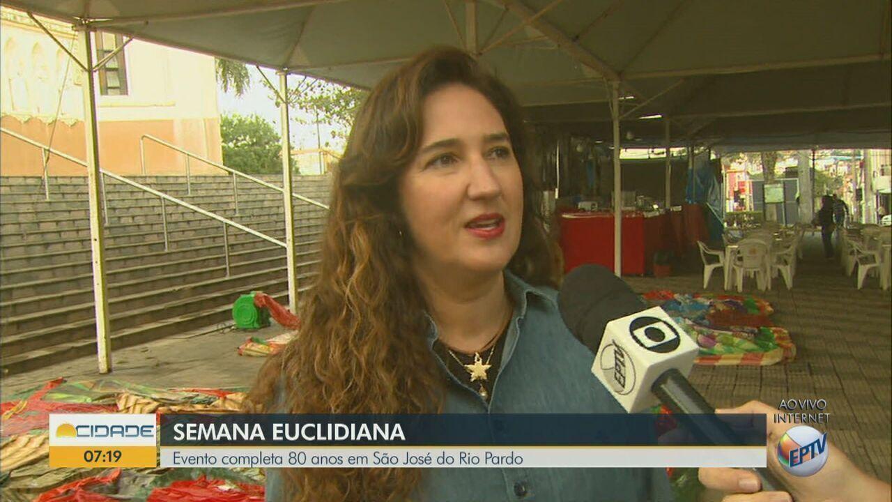 Semana Euclidiana comemora 80 anos em São José do Rio Pardo, SP