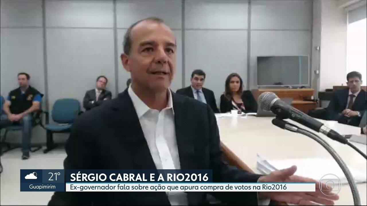 Sérgio Cabral participa de mais uma audiência na Lava Jato