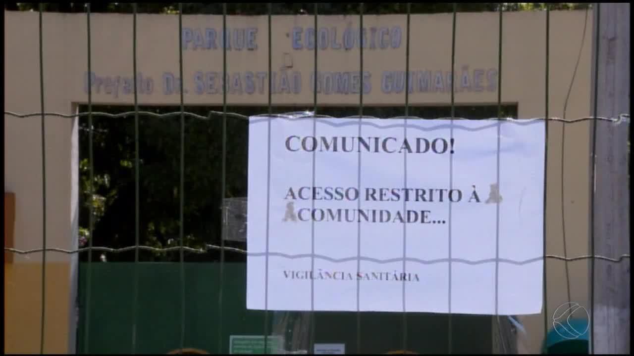 Mães de alunos pedem interdição de escola municipal próxima ao Parque da Ilha