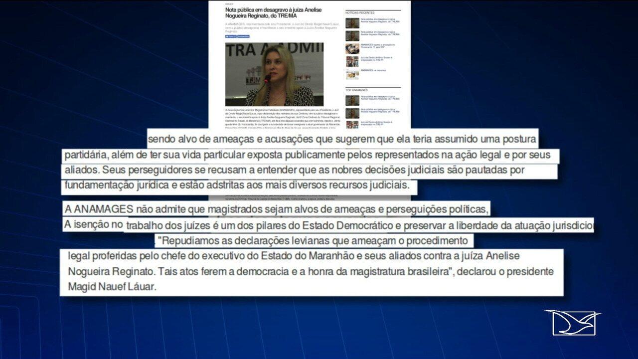 Associações de magistrados repudiaram os ataques contra a juíza Anelise Nogueira Reginato