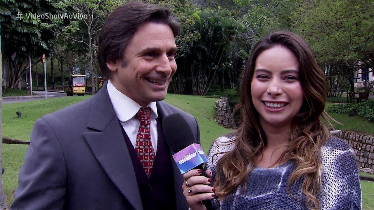 Murilo Rosa comenta vídeo divertido dos filhos