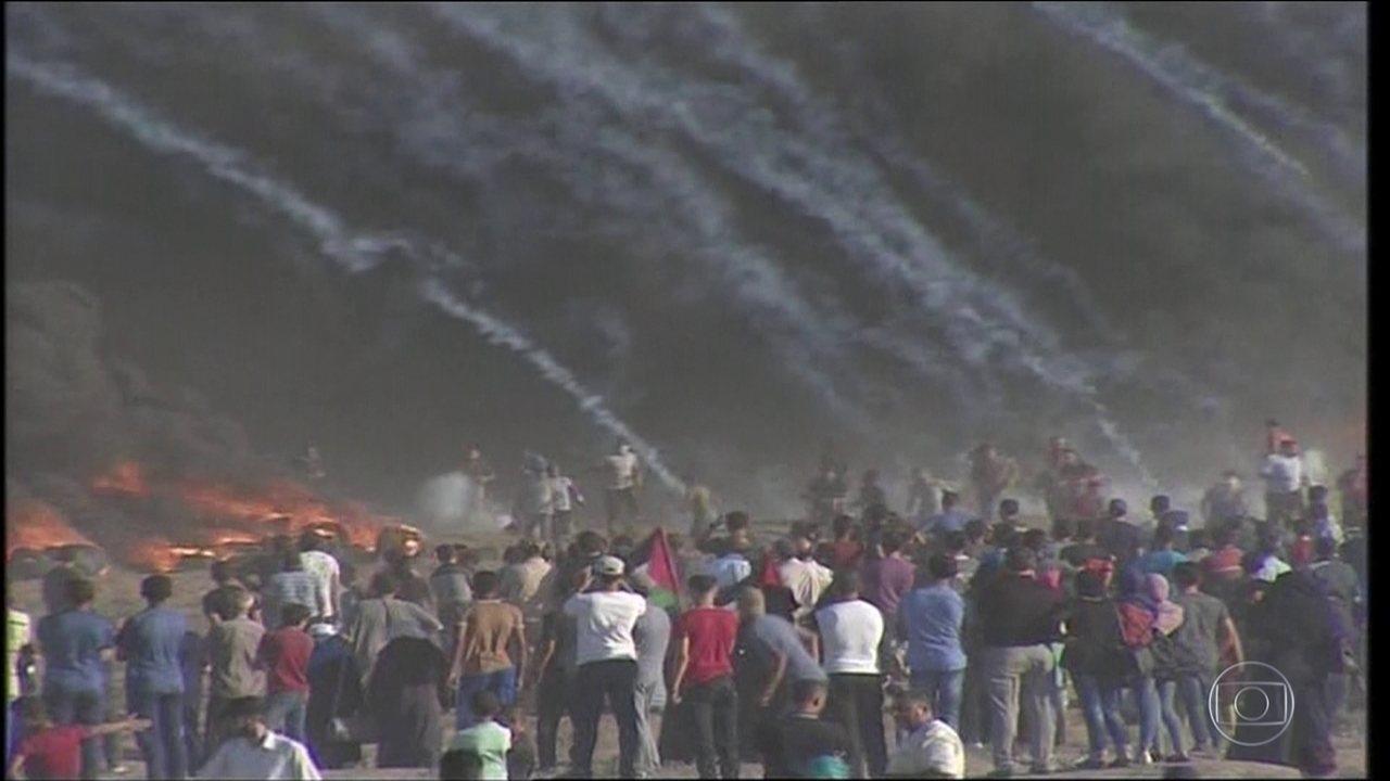 Novos confrontos na fronteira de Israel com Gaza deixam mortos e feridos