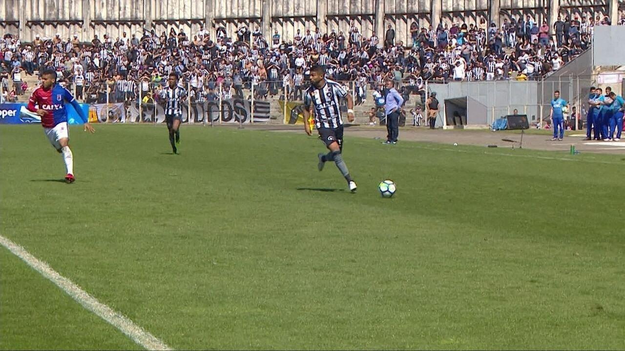 Melhores momentos: Paraná 1 x 1 Botafogo pela 18ª rodada do Brasileirão