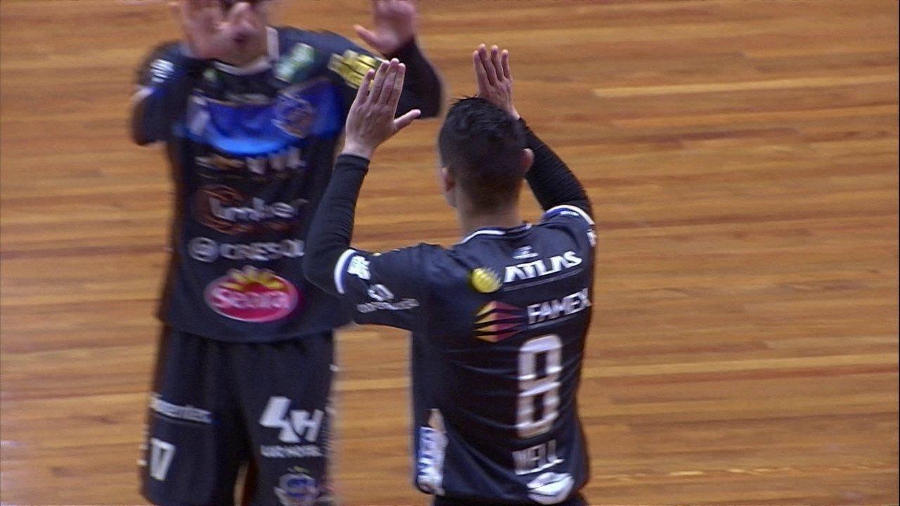 Os gols de Atlântico 2 x 4 Pato pela final da Taça Brasil de Futsal 2018