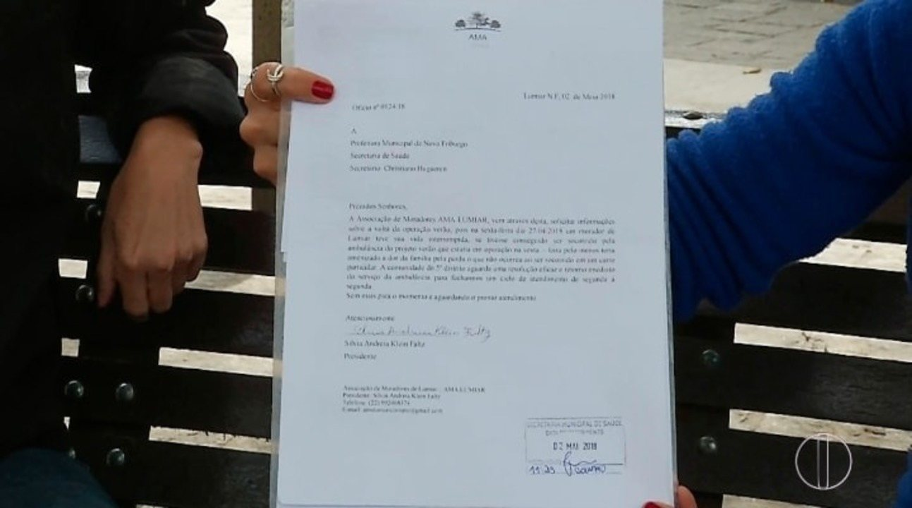 Paciente morre por falta de socorro no distrito de Lumiar, em Nova Friburgo, no RJ