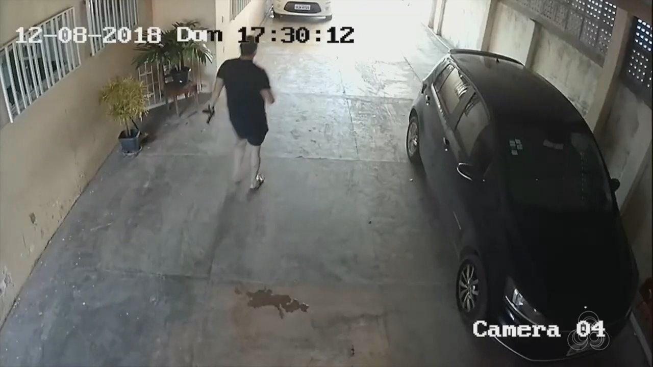 Câmeras de segurança mostraram movimentação na casa de PM morta no Amapá