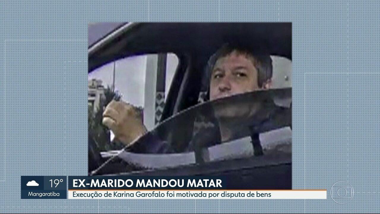Justiça determina prisão de ex-marido de Karina Garofalo, executada na Barra da Tijuca