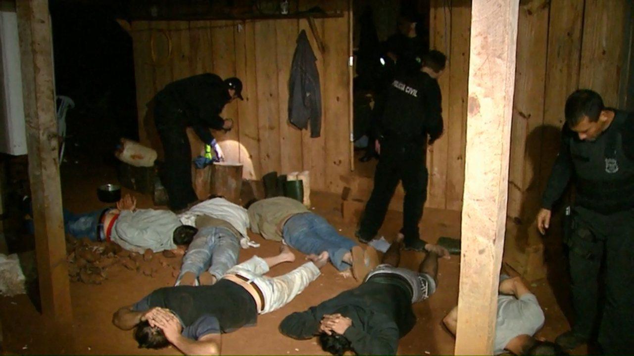 24 pessoas são presas suspeitas de cometer crimes dentro e fora de acampamentos do MST
