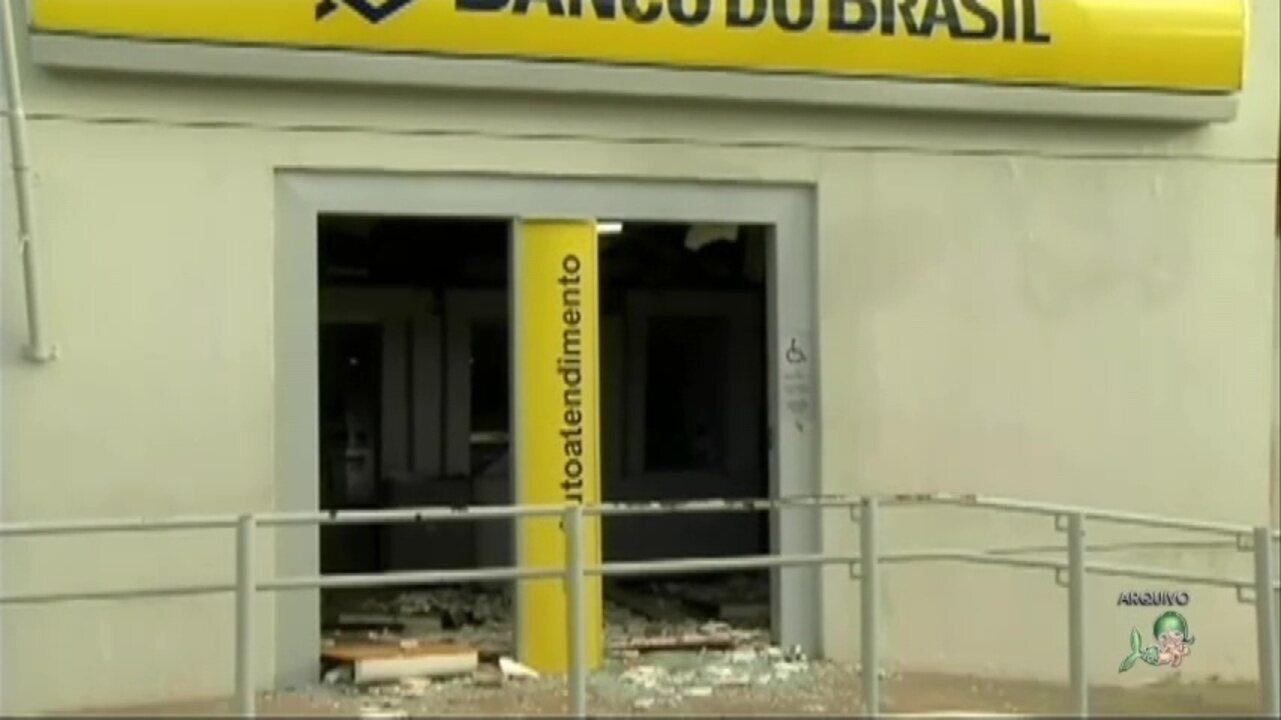 Ataques a agências bancárias no interior atrapalham transações financeiras da população