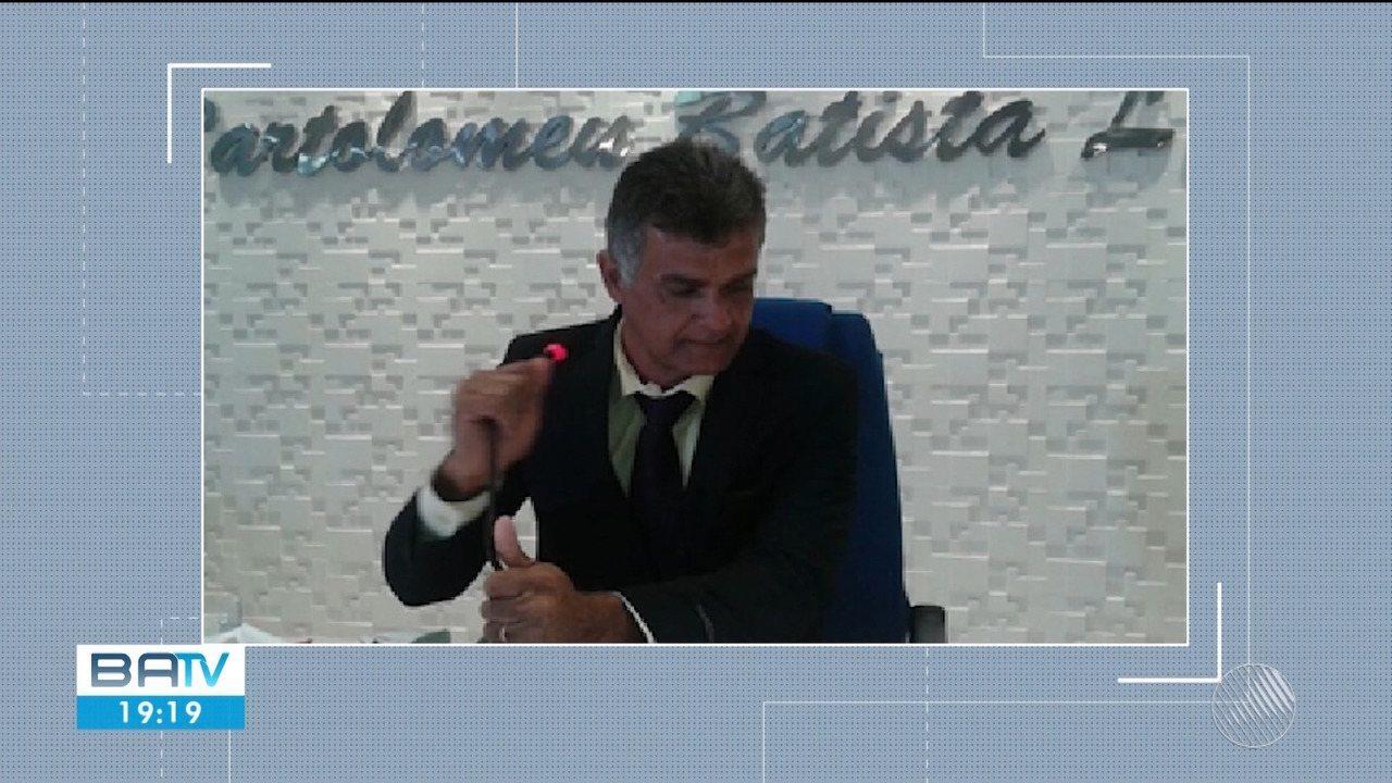 Presidente da Câmara de Riachão da Neves é preso por suspeita de abuso sexual