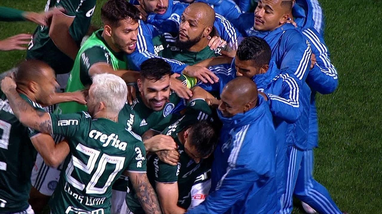 O gol de Palmeiras 1 x 0 Bahia pelas quartas de final da Copa do Brasil e4645e8d70792