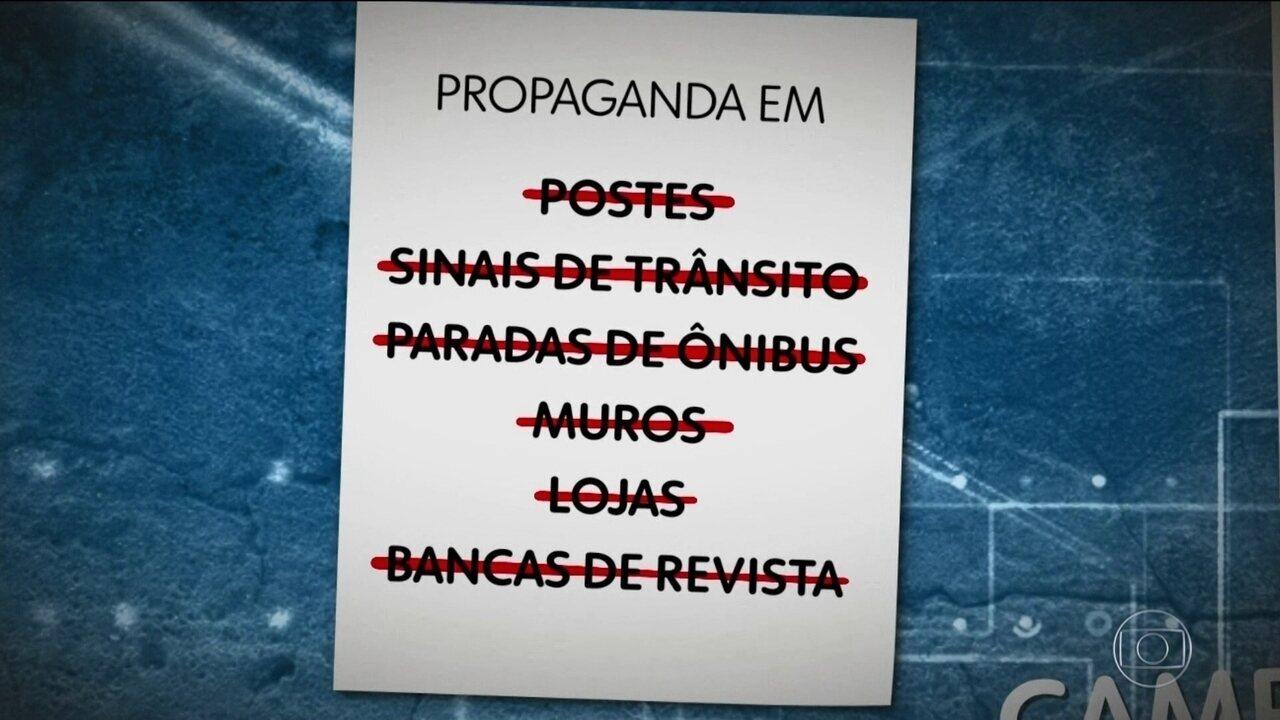 Começa a propaganda eleitoral nas ruas e na internet