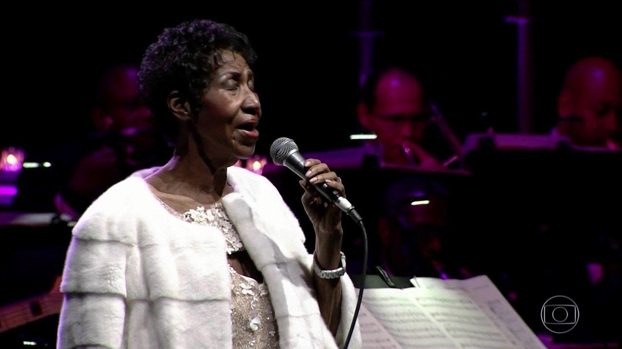 Morre Aretha Franklin aos 76 anos