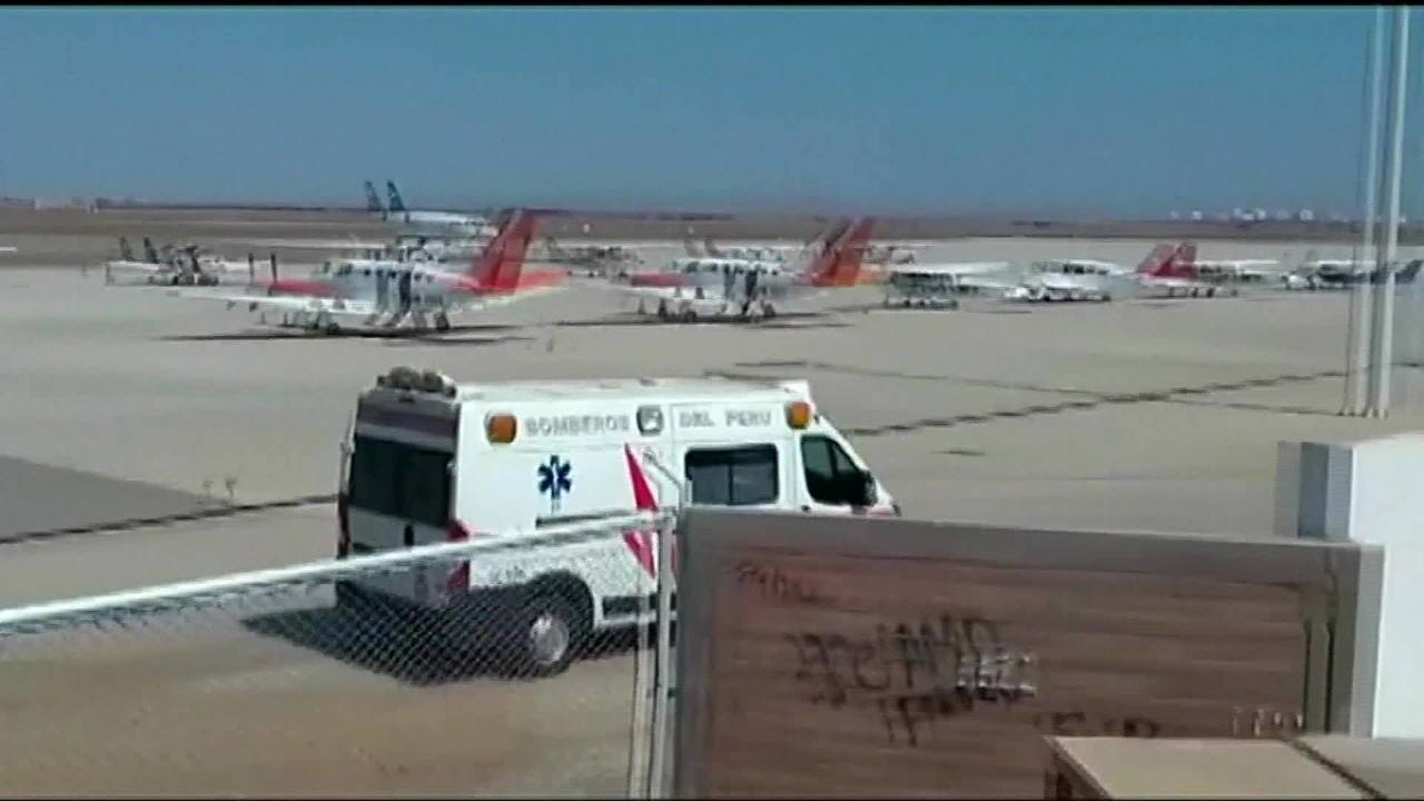 Quatro aviões fazem pouso de emergência no Chile e no Peru por causa de ameaças de bomba