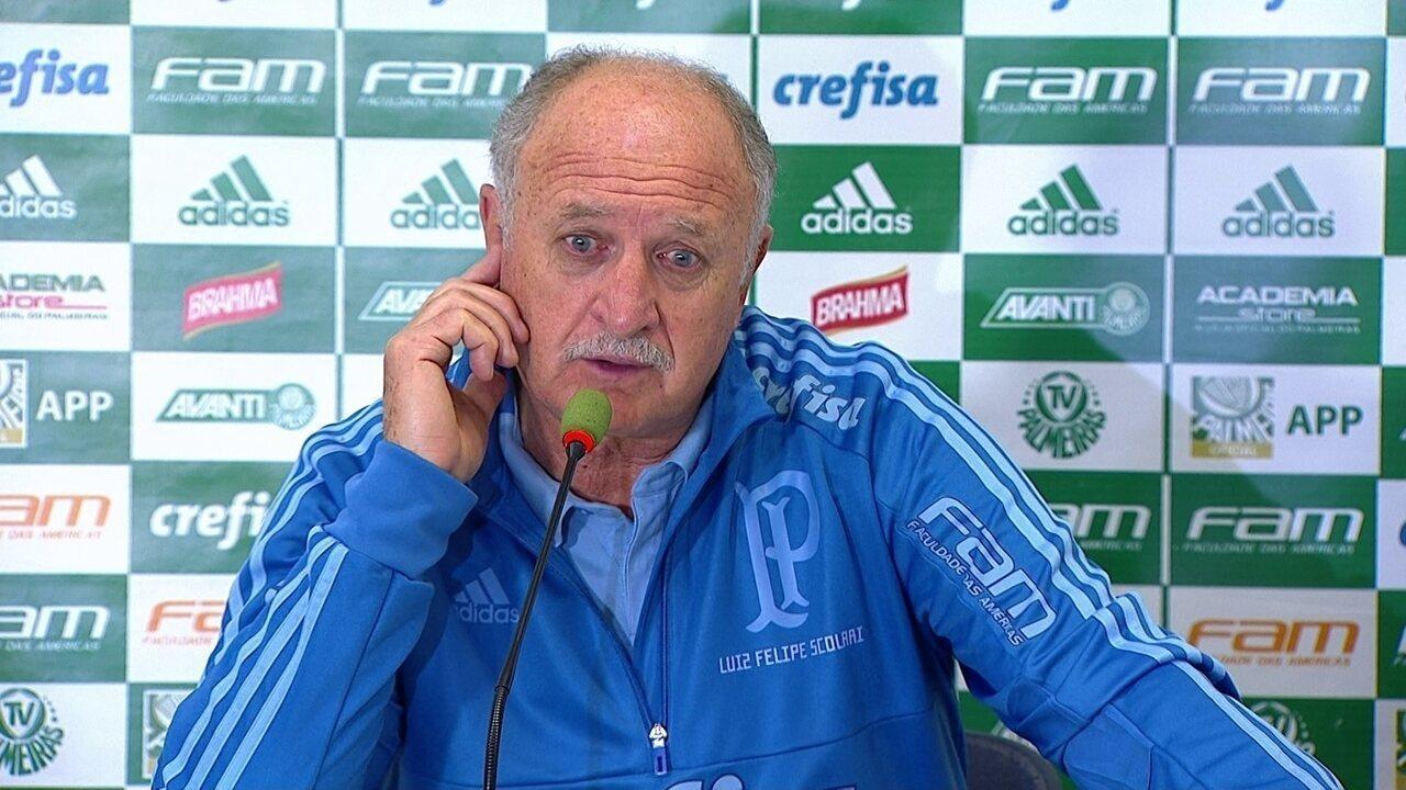 4581b56f5e Veja a íntegra da coletiva de Luis Felipe Scolari após a vitória contra o  Bahia