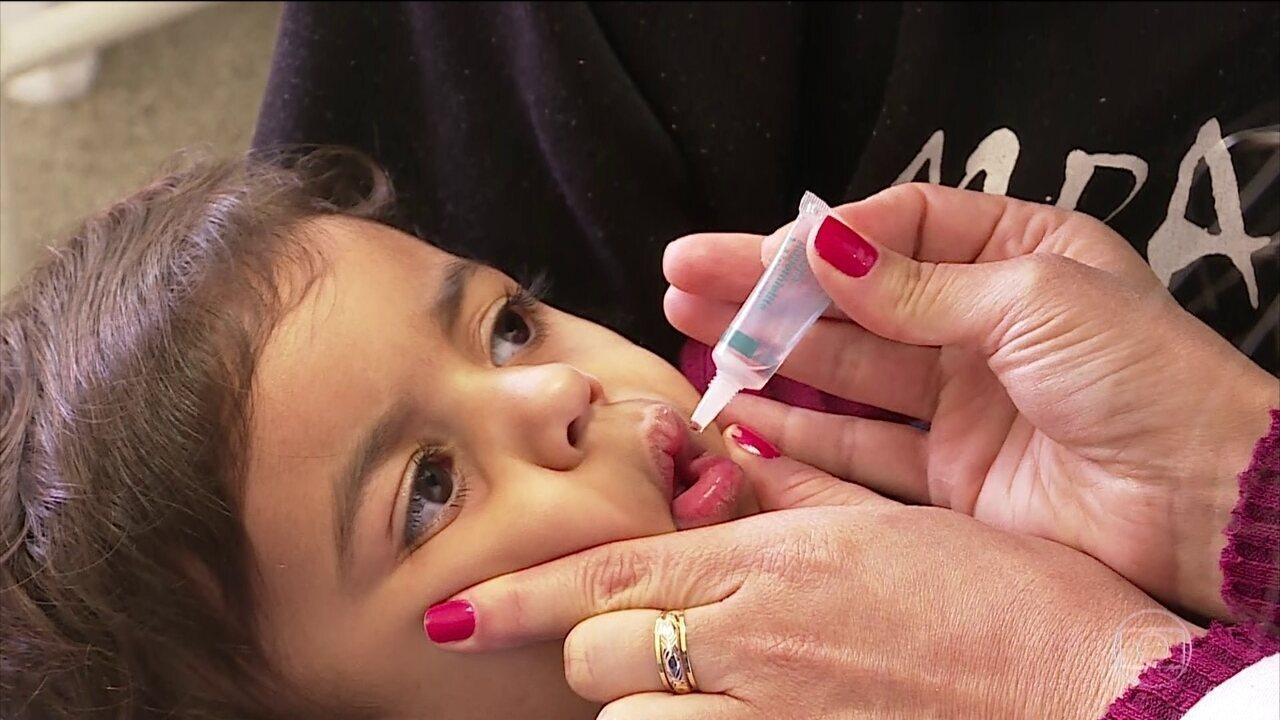 Dia D de vacinação contra pólio e sarampo acontece sábado (18) em todo o Brasil