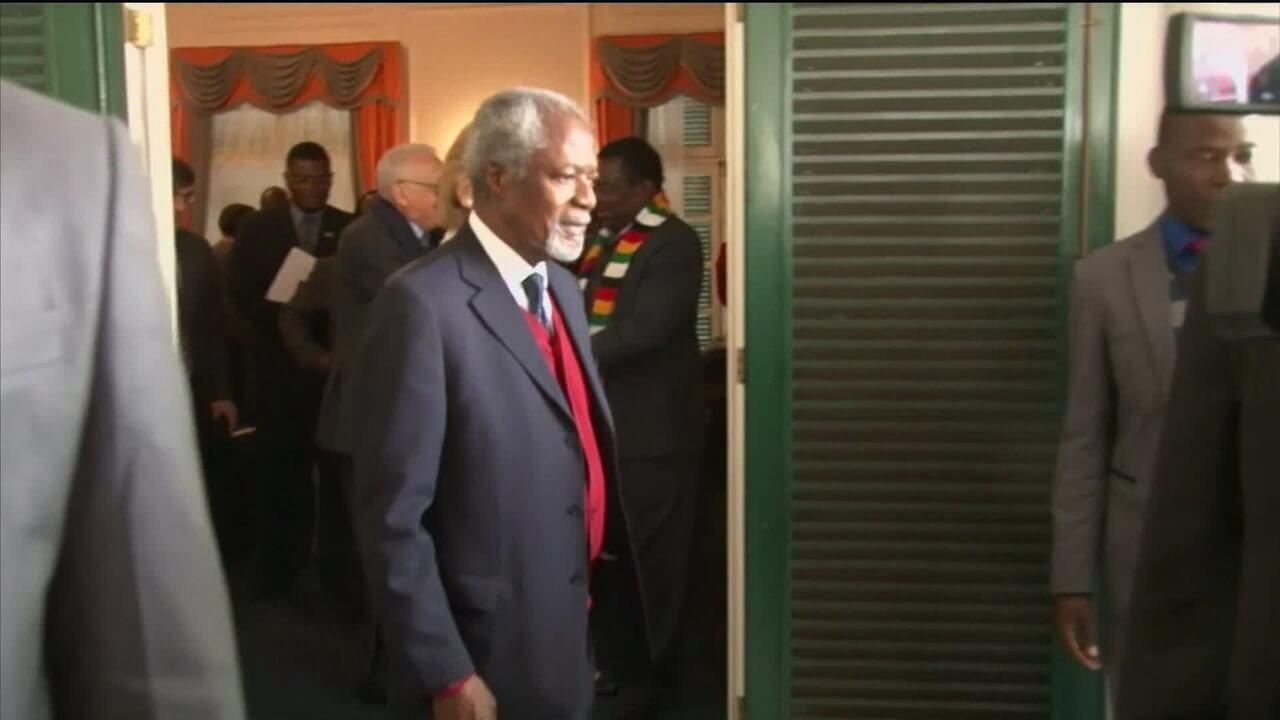 Morre Kofi Annan aos 80 anos