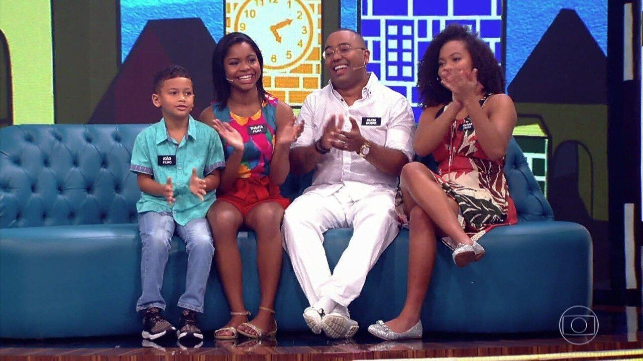 Filhos de Marcio Garcia e Dudu Nobre contam que os pais são muito exagerados