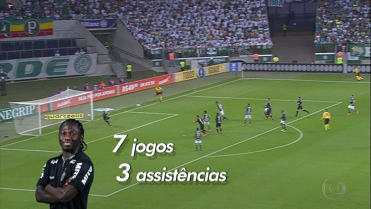 386094f0f5 Veloz Chará tem sido um destaques na campanha do Atlético-MG no Brasileirão
