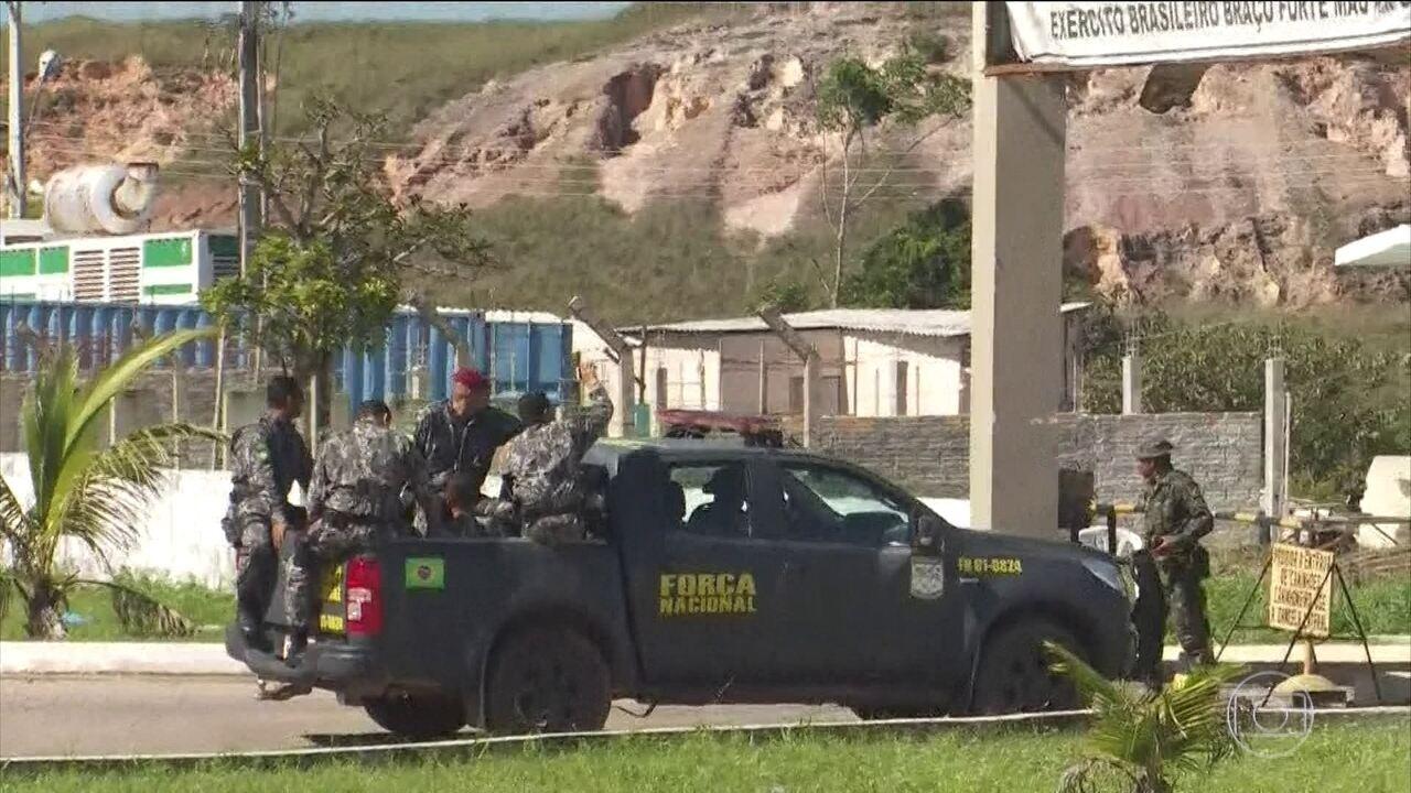 Militares da Força Nacional chegam a Roraima para reforçar a segurança na fronteira