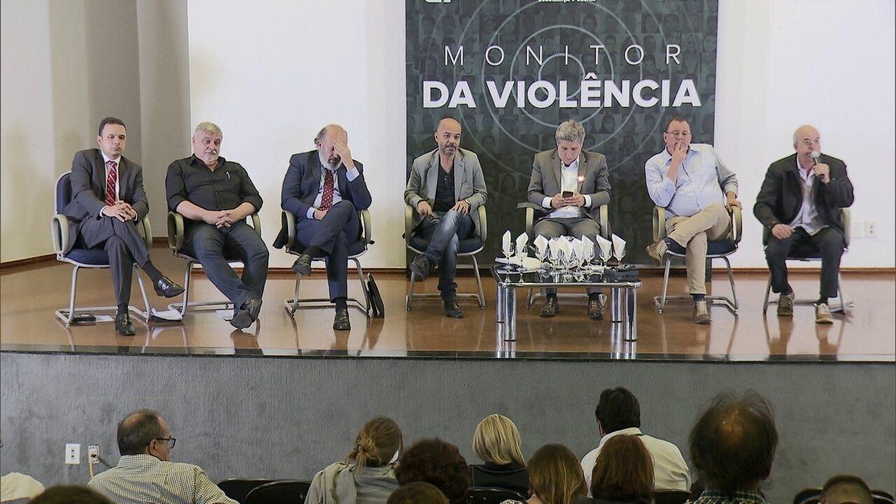 Considerações finais de 7 assessores de presidenciáveis em evento do Monitor da Violência