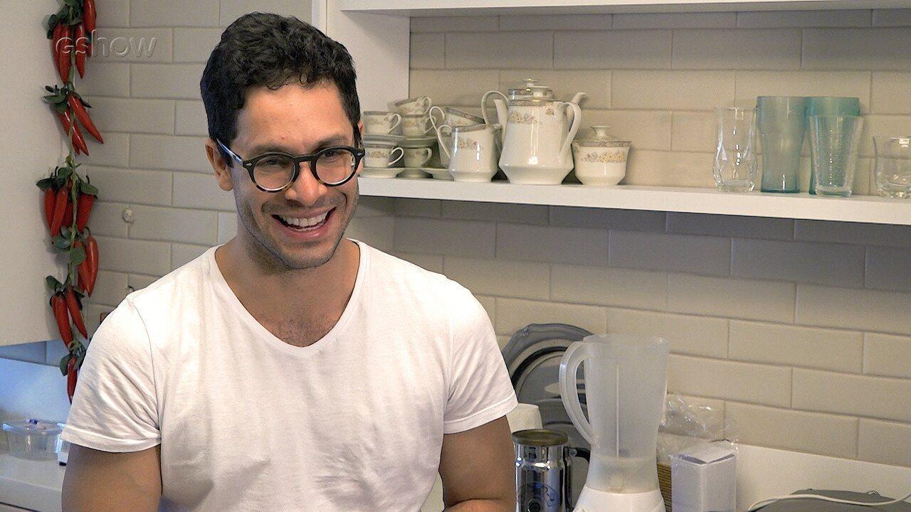 Rainer Cadete conta que cozinhar é 'um ato de amor'