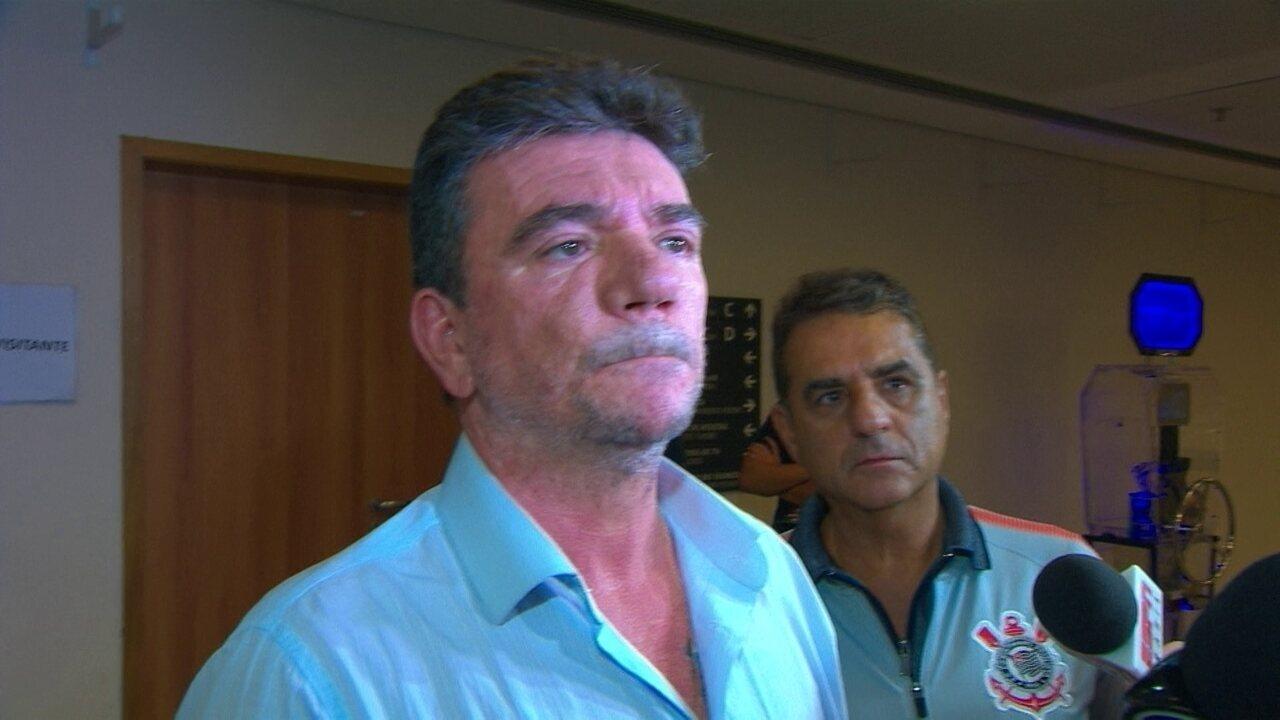 Presidente Andrés Sanchez diz que jogadores do Corinthians precisam render mais